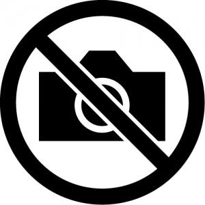 撮影禁止マークのカッティングシートステッカー