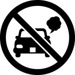 アイドリング禁止マークのカッティングシートステッカー