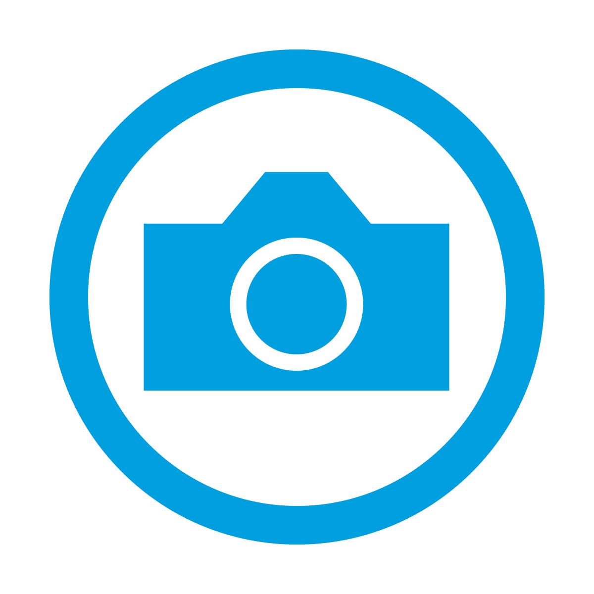 青い撮影を許可するマークのカッティングステッカー