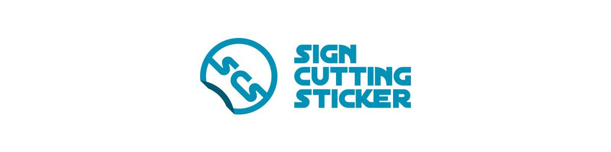 サインカッティングステッカー ロゴ