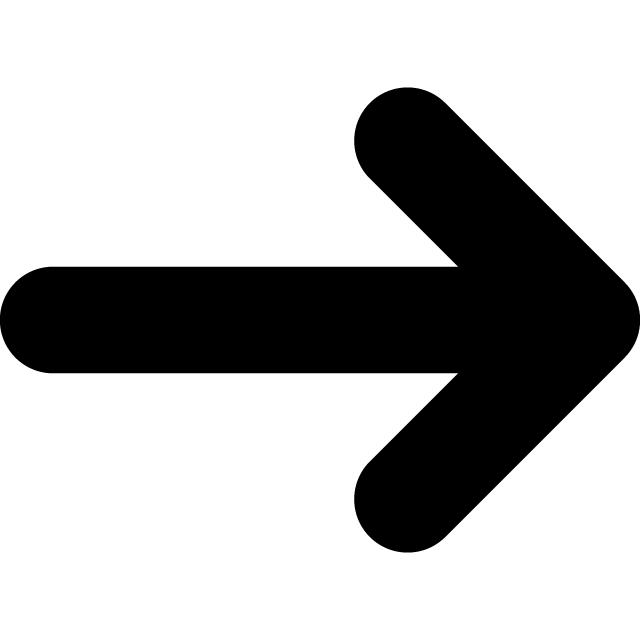 全方向対応矢印案内マークのカッティングシートステッカー